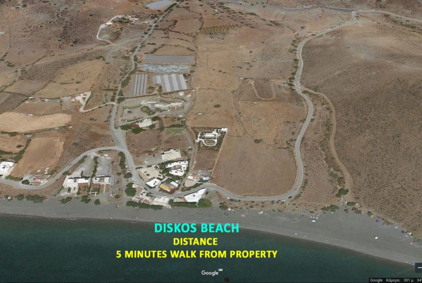 Property near Diskos Beach Crete island