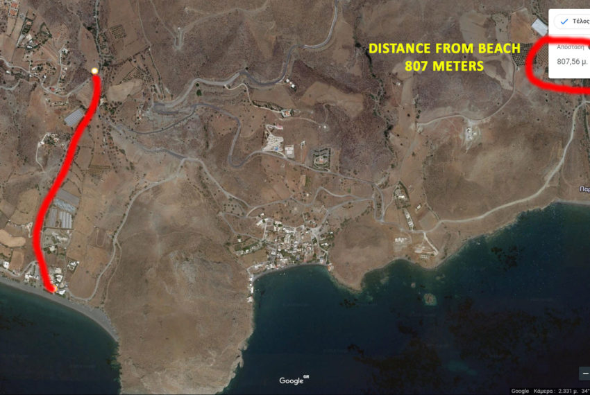 Property near Diskos and Lendas Beach Crete island