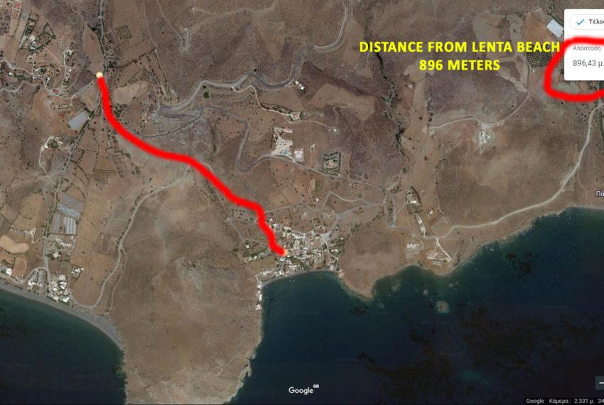 Property near Lentas and Diskos Beach Crete island