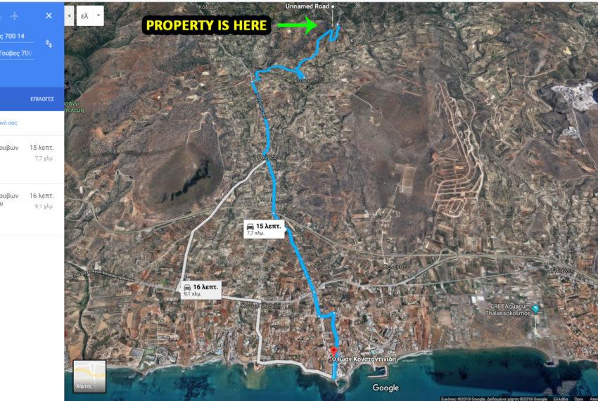 Gouves property near heraklion city