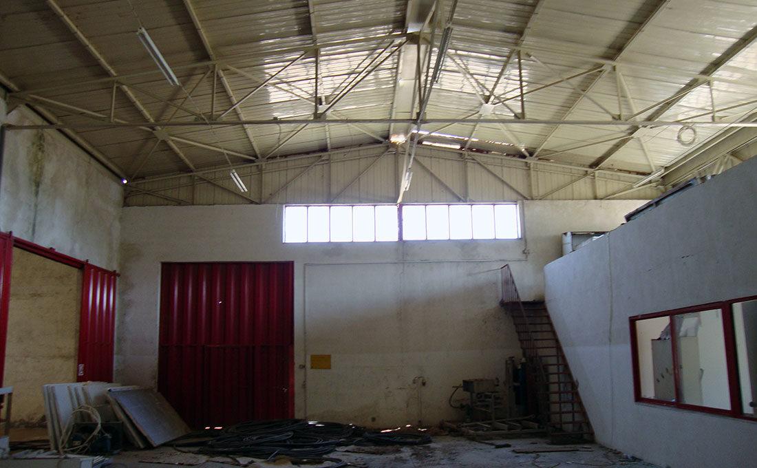 Factory 3 buildings crete