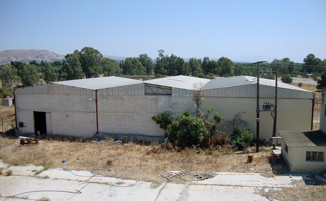 Old factory for olive oil sale