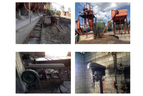 machinery factory oil