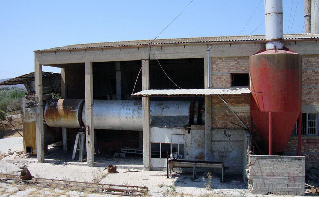 oil factory crete