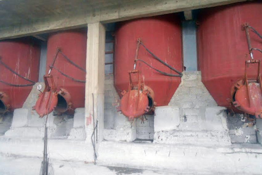 old boiler for oil crete