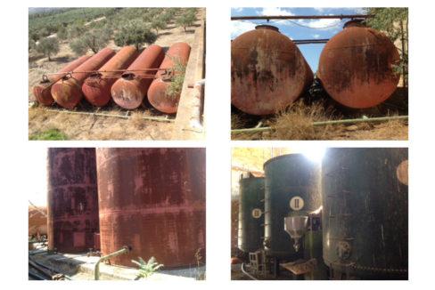 old boiler for factory