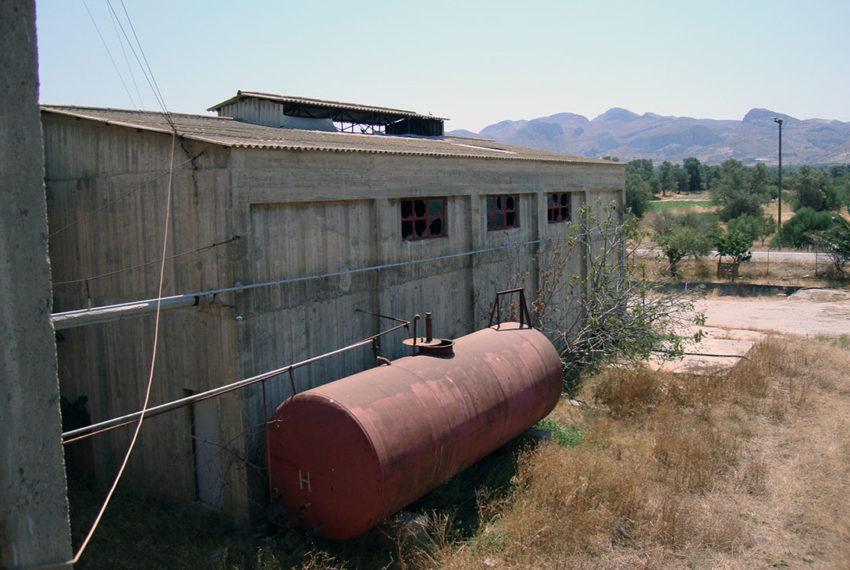 old oil factory creta greece