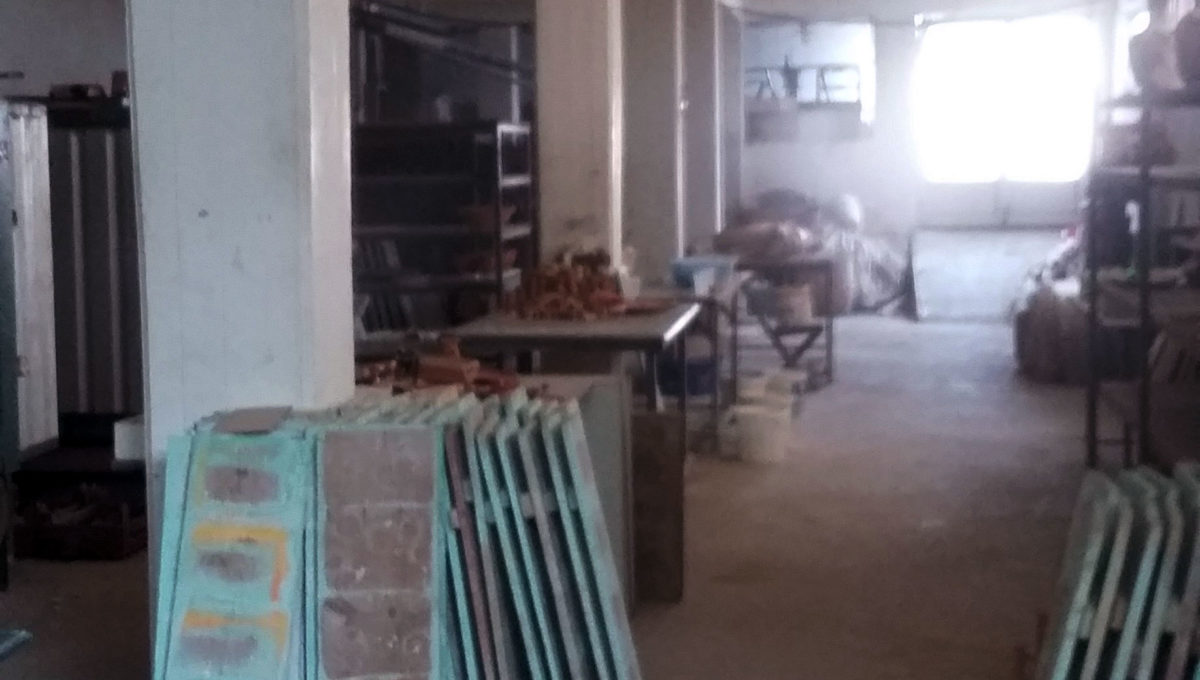 basement ceramic factory