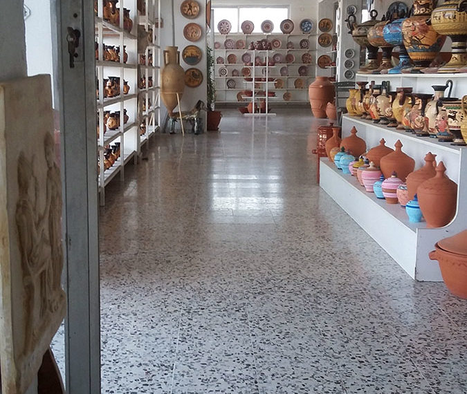 first floor ceramic factory