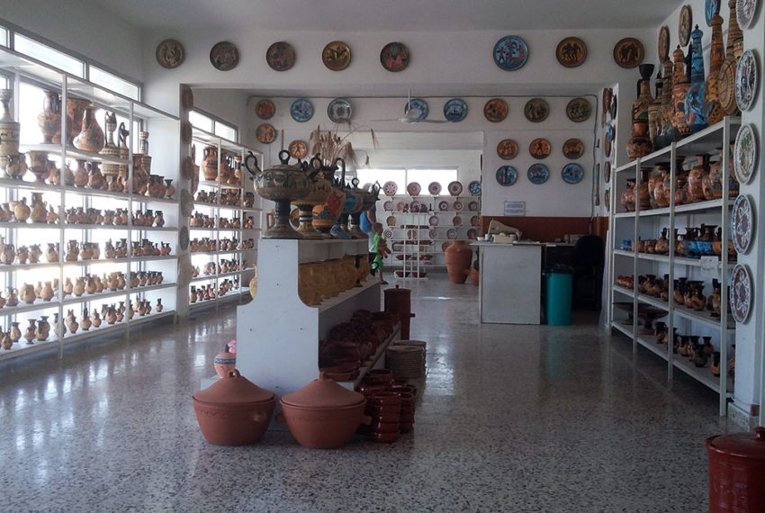 ground floor ceramic factory