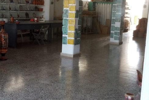 ground floor ceramic shop