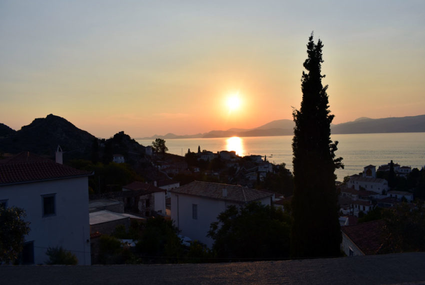 Hydra Greek stone villa for sale