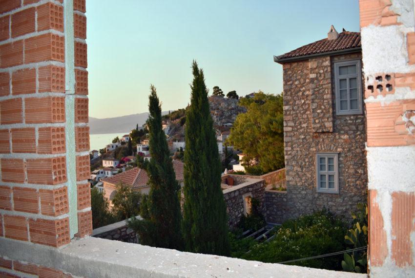Hydra stone villa for sale