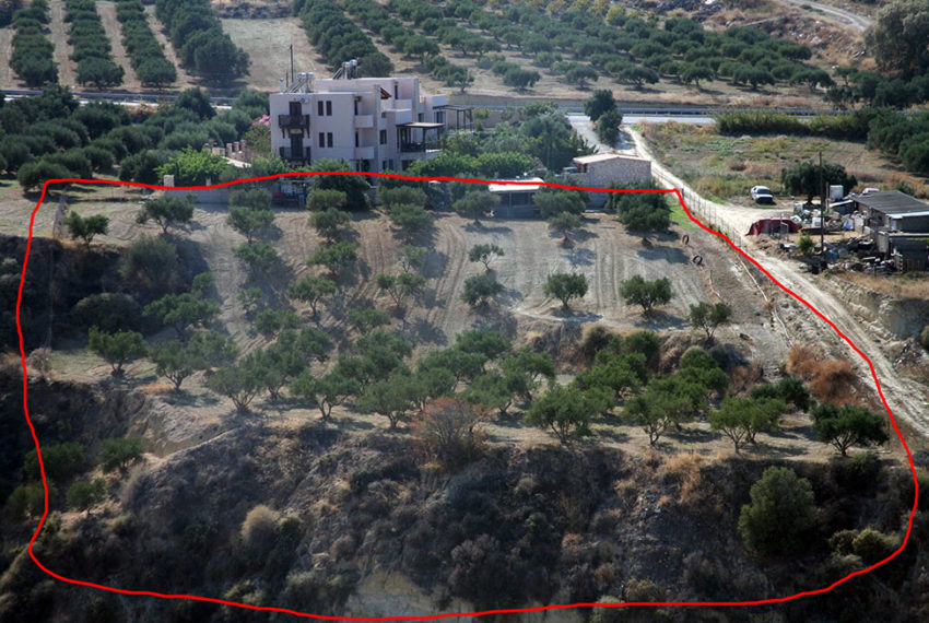 Karteros Heraklion land for sale